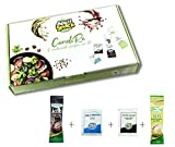 Aperisnack® - AP20.001.01 Condimento per Insalate 25 Kit (100pz) bustine di Sale, Pepe, O...