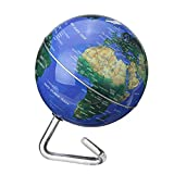 Battery Powered Automatic Rotate World Globe Terreste Map Earth Tellurion Home Decoration School