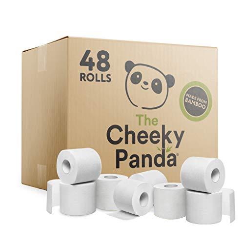 The Cheeky Panda Kunststofffreies Toilettenpapier, 48 Stück