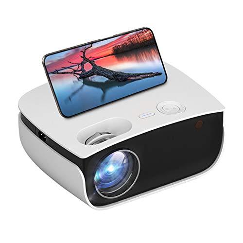 PROYECTOR Mini HD, Proyector WiFi de Smartphone LED 720P 3000 LUMENS LED...