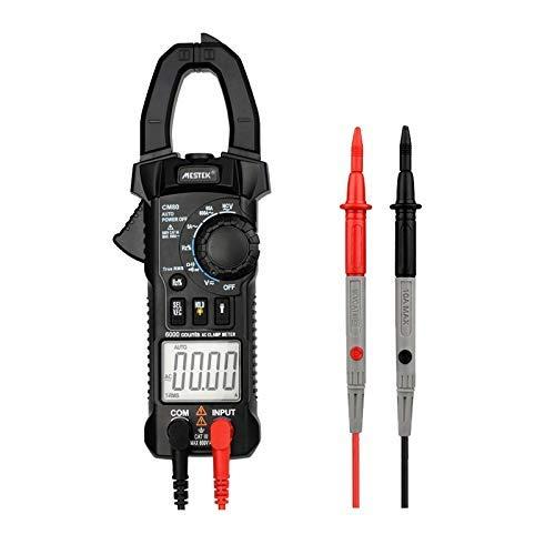 ZGQA-GQA Pinzas medidor digital de verdadero valor eficaz CM80 auto de la gama AC DC 600A capacitancia de frecuencia Resistencia actual del multímetro con la sonda precisa