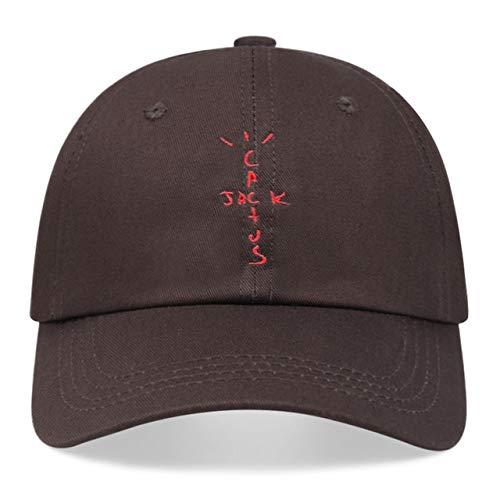 Gorras de béisbol de algodón Unisex Dad Hat Cap Hombre Mujer Sombrero de Verano-Coffee