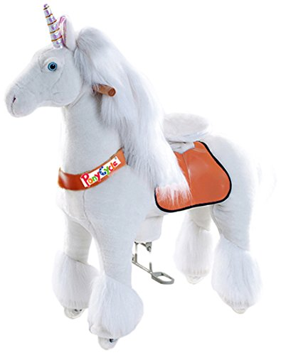 Vroom Rider X Ponycycle Ride-On Unicorn...