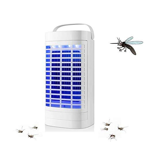 Queta Lámpara Antimosquitos, LED UV Lámpara Repelente de Mosquitos, 5W Lámpara Eléctrica...