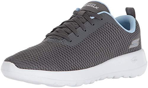 Price comparison product image Skechers Performance Women's GO Walk Joy-Paradise Sneaker, gray / blue, 8.5 M US