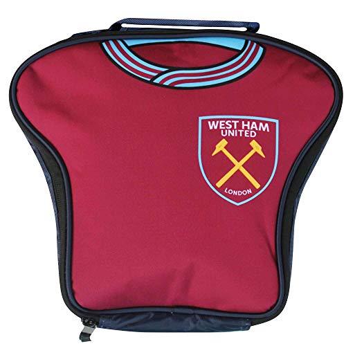 West Ham United officiële Crest Shirt gevormde Lunch Bag