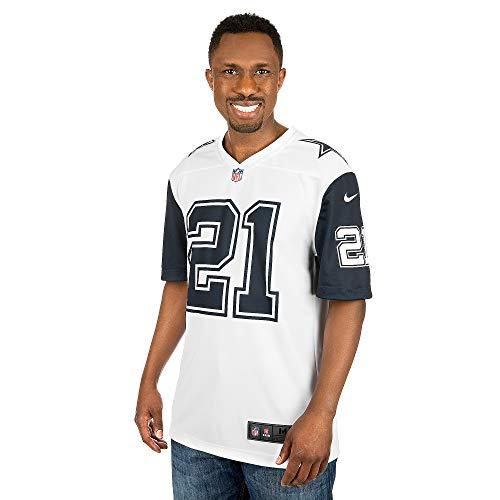Nike Dallas Cowboys Adult Ezekiel Elliott #21 XC2 Color Rush Jersey Large