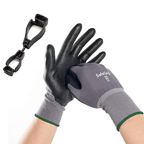 Guyarns Schnittfeste Handschuhe,Arbeitshandschuhe Herren Damen 1 Paar Level 5 Schutz Verhindern Edelstahl-Drahtgewebe Handschuhe Sie Schnitte und Stiche