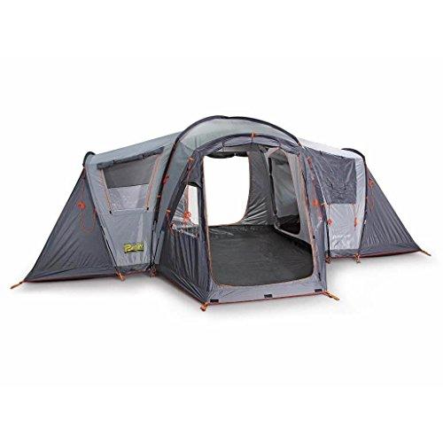 Bertoni Tende Vis a Vis 4 VIP Tenda da Campeggio a Catino Unico Vis a Vis 4 VIP, Grigio, Unica