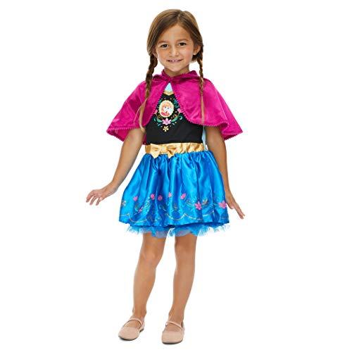 Disney Frozen Princess Anna Infant Baby Girls Costume Cosplay Dress 12 Months