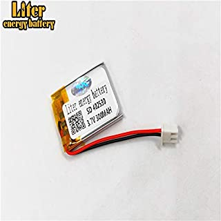 BIHUADE JST PH 1.25mm 3.7V 620MAH 802040 Polymer Lithium Battery for MP4 GPS MP3 Bluetooth Stereo