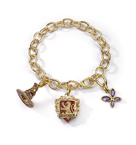 Noble Collection NN7708 Harry Potter-Armband, Talisman Lumos Gryffindor
