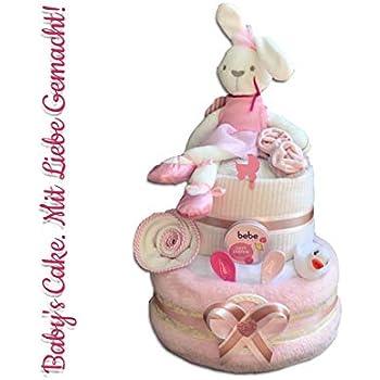 Babyparty f/ür M/ädchen und Jungen Taufe Babyparty Geschenk zur Geburt Taufe Babyparty//Geschenk zur Geburt Taufe Windeltorte Neutral Geschenk zur Geburt