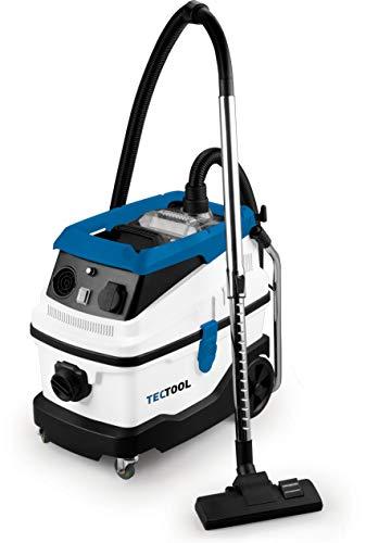 TECTOOL 13023 Industriesauger NTS 30 Premium [230V-EU] Nass-Trockensauger 30L, blau weiß