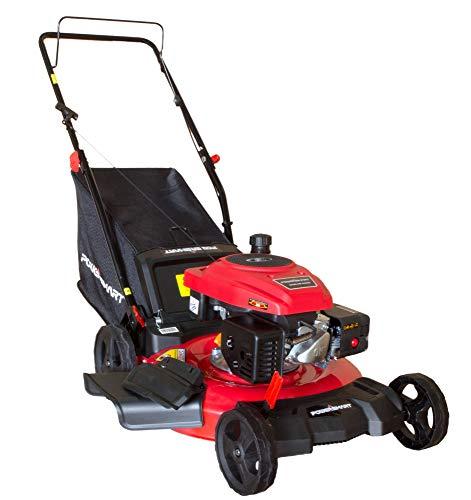"Mower PowerSmart PS2194PR 21"" 3-in-1 170cc Gas Push Lawn"