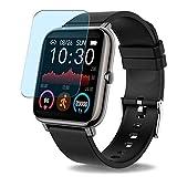 Vaxson 3 Stück Anti Blaulicht Schutzfolie, kompatibel mit Motast CanMixs P22 P22D smartwatch Smart Watch, Displayschutzfolie Bildschirmschutz [nicht Panzerglas] Anti Blue Light
