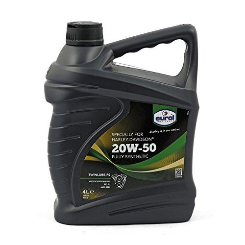 Eurol Hochleistungs SAE 20W50 Motoröl Öl Vollsynthetisch für Harley (4L)