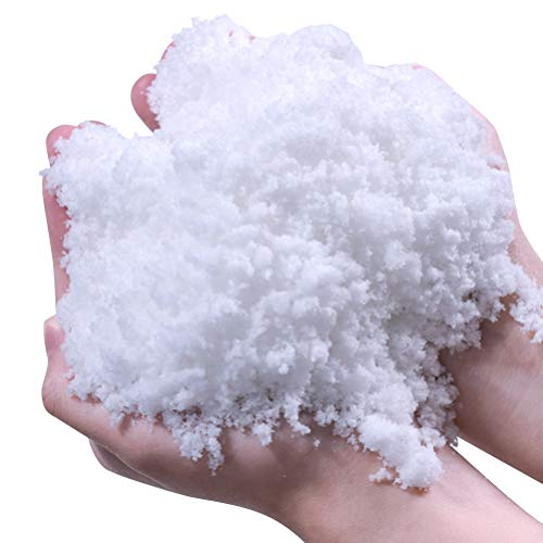Stylelove Instant Snow Powder - Makes Artificial Snow - Perfect for Christmas Tree Decoration, Village Displays, Holiday and Winter Crafts and Fake Snow Play and Great for Cloud Slime