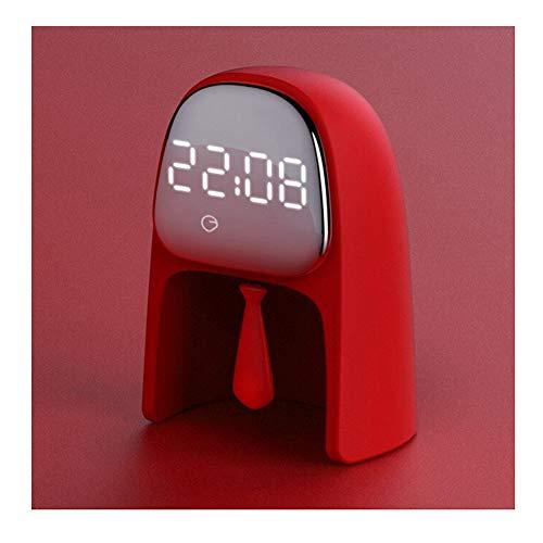 Reloj y nuevo escritorio para el hogar, escritorio, alarma eléctrica, luz nocturna...