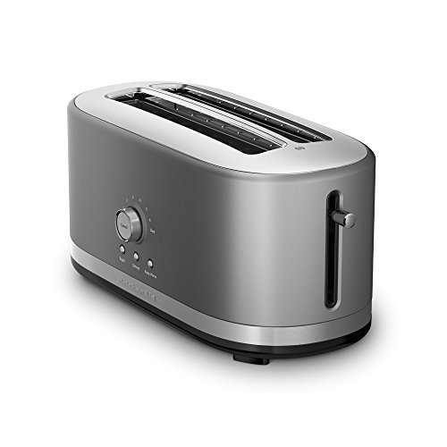 KitchenAid Toaster with High-Lift Lever KMT4116CU 4-Slice Long Slot, DAA