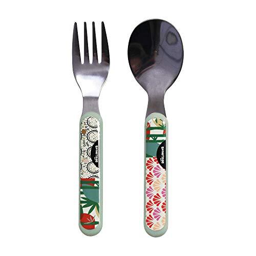 Déglingos Todos - Pack cuchara y tenedor