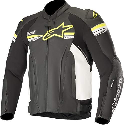 Alpinestars Chaqueta moto Gp R V2 Leather Jacket Tech-air Compatible Black Yellow...