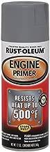 Rust-Oleum 249410 Automotive Engine Primer Spray Paint, 12 oz, Gray