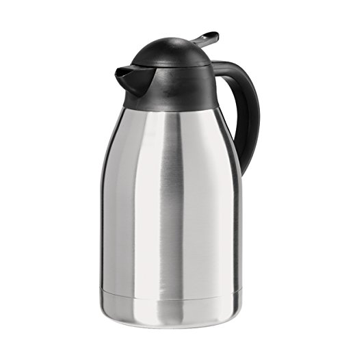 Oggi Coffee Carafe, Medium, Stainless Steel