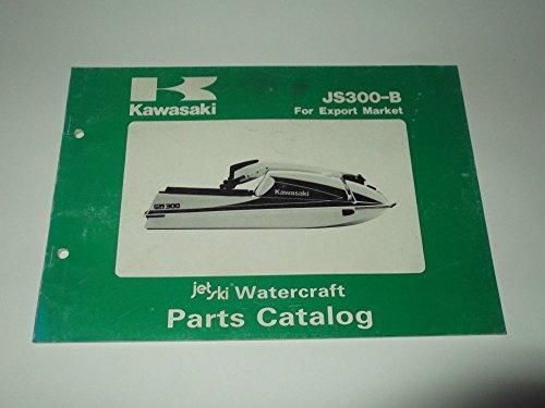 Parts Catalog Kawasaki JS 300-B1-B3 1986-1987 Jet Ski Watercraft