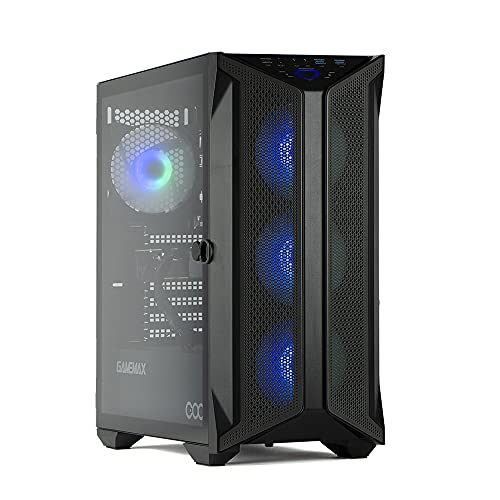 MAK DISASTER - PC Gaming Ryzen 3 3300X, Rtx 2060 6Gb,Ram 16Gb 3200MHz,Nvme 250Gb + Hdd 1000Gb,80+ Bronzo 600W, Windows 10, Pc Gaming Assemblato Completo Con Wifi e Bluetooth