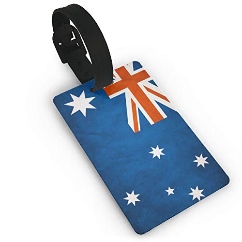 IEHFE MCNXB Cute Luggage Tags Australia Flag Business Baggage Suitcase Luggage Tag Travel Accessories Luggage Travel Identifier for Weddings