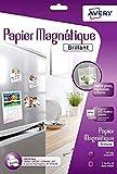 Avery 3Blatt Fotopapier magnetisch–A4–Eindruck Tintenstrahldrucker–glänzend (c9420)