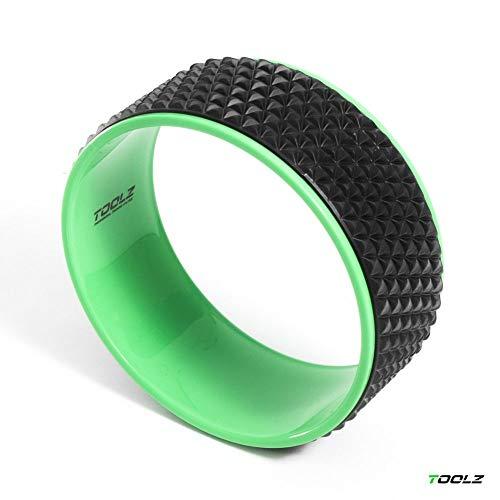 TOOLZ Yoga Ring 32cm - Rutschfestes Yoga Rad zur Rücken Streckung und Dehnung