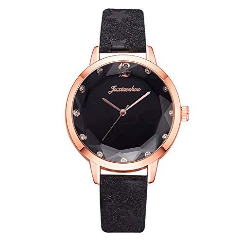 Men Women Sleek Minimalist Gift Watches with Strap, Ladies Luxury Quartz Watches A