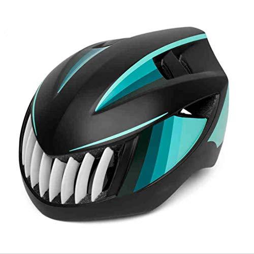Outdoor sport houlian winkel Mountainbike Fietsen Helm Zwart Cyaan Een stuk Veiligheid Hoed Racefiets Mannen En Vrouwen Apparatuur Fiets