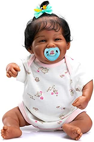 Reborn baby girl black