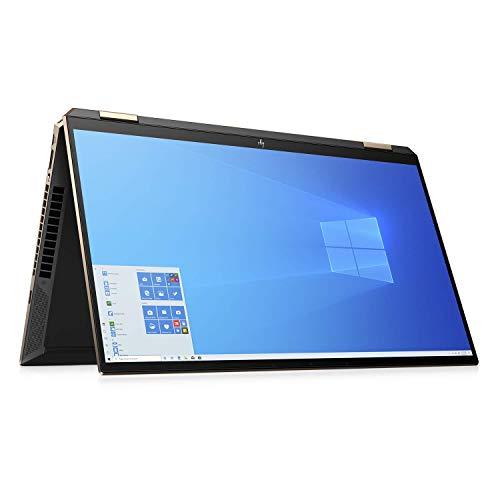 "HP – PC Spectre X360 15-eb0001nl Notebook Convertibile, Intel Core i7-10510U, RAM 16 GB, SSD 1 TB, NVIDIA GeForce MX330 2 GB, Windows 10 Home, Schermo 15.6"" 4K UHD, Lettore Impronte Digitali, Nero"