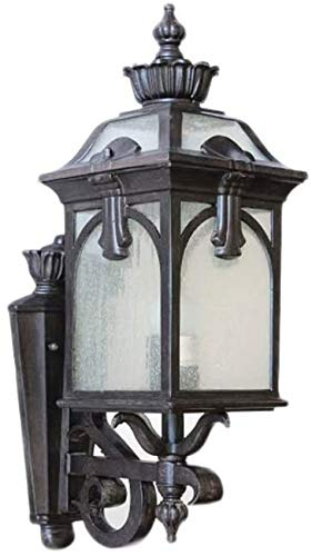 LOKKRG Linterna de Pared Exterior Pared Exterior de una luz