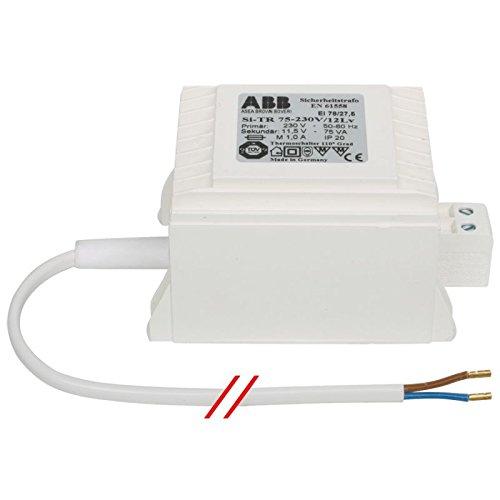 Transformator Niedervolt, 230V / 12V / 400 Watt für Halogenbeleuchtung ABB