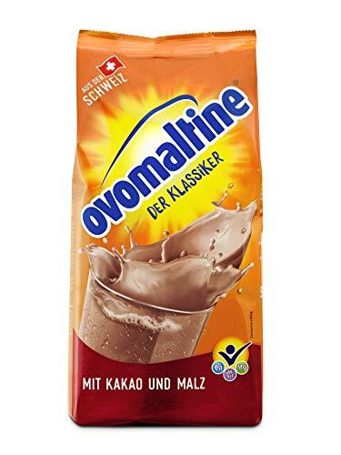 Recambio de Ovomaltine para bebidas en polvo 500 g, paquete de 2 (2 x 500 g)