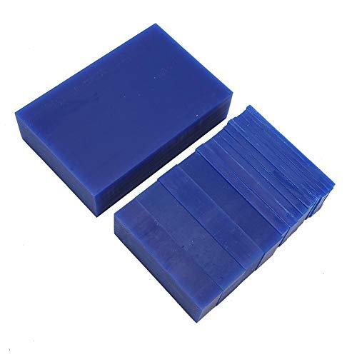 Naroote Schmuck Gravur Wachs, glatt blau langlebige Wachs Ziegelring Herstellung Gravur Wachs Schmuck Wachs, Schmuckhersteller für Schmuckreparaturarbeiter