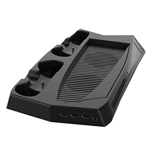 funks ps5 冷却ファン 冷却スタンド 充電スタンド 縦置き 縦置きスタンド コントローラー2台充電
