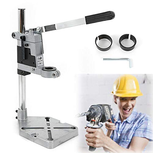 Benchtop Clamp Drill Press Stand - Bench Drill Press Stand,Drill Bench Press Stand,Workbench Repair Tool Clamp Vertical Drill Stand for Drilling Holder Bracket Adjustabe 38-42mm