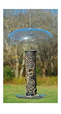 Aspects Jewel Box Suction Cup Windows Hummingbird Feeder, 8-Ounce