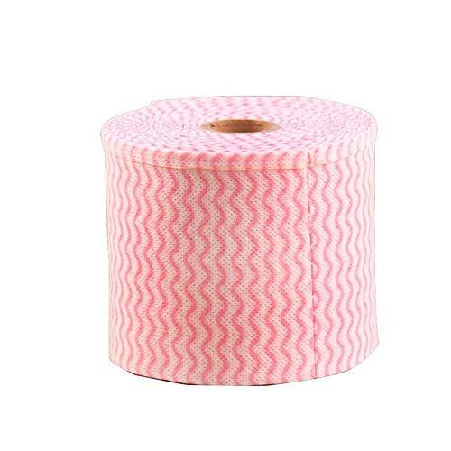 1 rouleau 6.5ft Torchons de nettoyage jetables pour cuisine Multi-usage Tissu Non-tissé Multi-usages Nettoyage Serviette