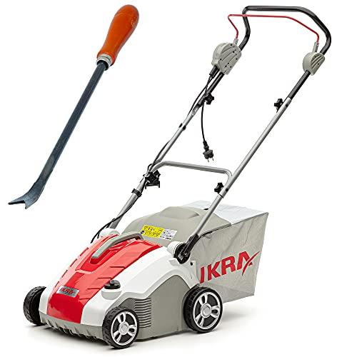 IKRA escarificador y aireador eléctrico IEVL 1738, incl. rascador para malas hierbas