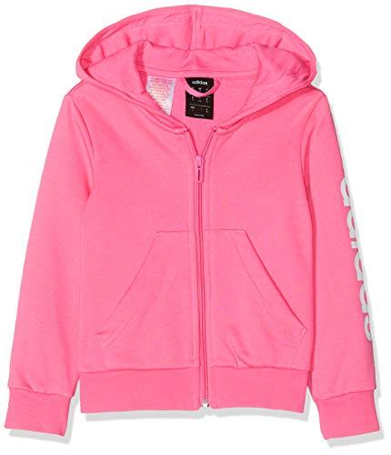 adidas Yg E Lin Fz H Sweatshirt für Mädchen XL Mehrfarbig (seroso / Blanco)