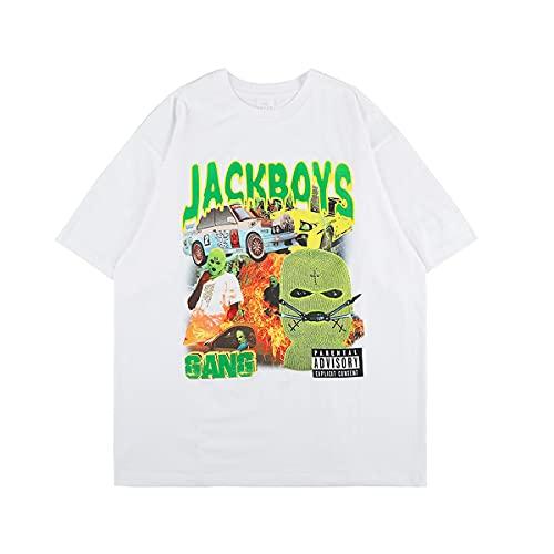 Travis Scott T-Shirts (Bianco, XL)