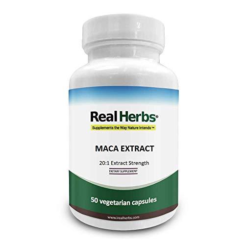 Real Herbs Extracto de la raíz de Maca...