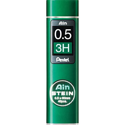 ぺんてる シャープペンシル替芯 Ain 替芯 シュタイン 0.5mm 3H C275-3H